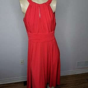 Laura - red long dress / gown